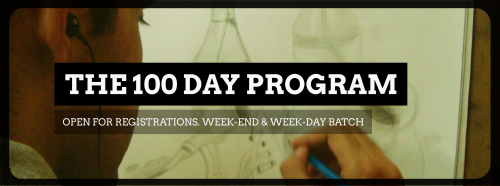 Update:  The 100 Day Drawing program is Open for Registrations!